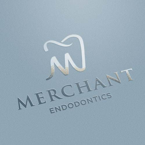 contemporary dentist logo with tooth