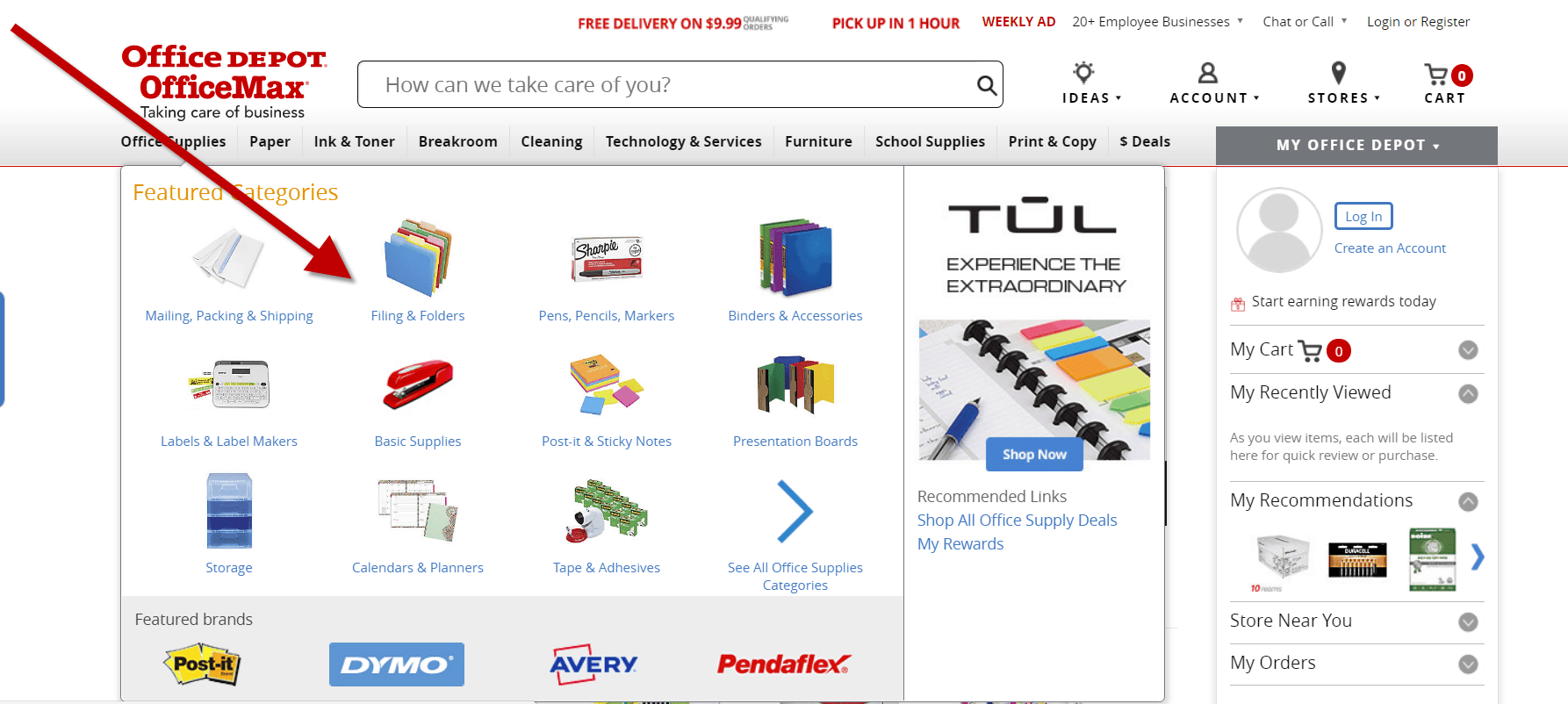 Reliable Office Supplies Compared To Quill