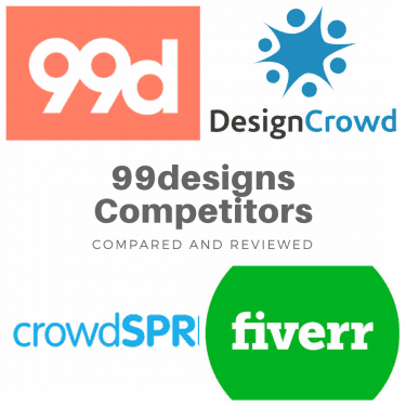 99designs competitors and alternatives for logo design online