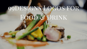 examples of food and drink logos by 99designs