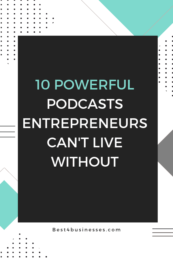 best entrepreneur podcasts