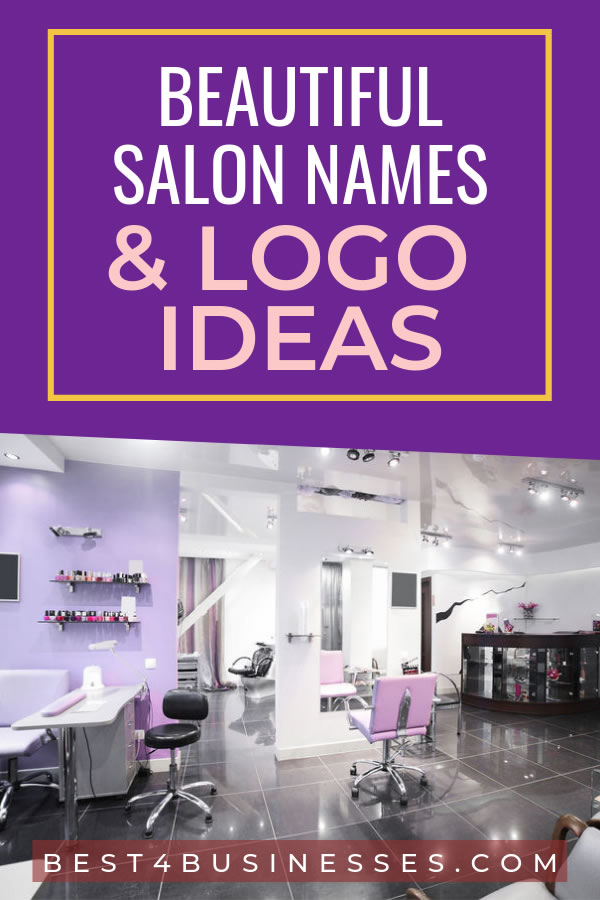 salon names and logo list of ideas