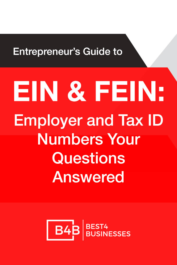 Guide to EIN and FEIN Tax ID Numbers for Small Business Startups