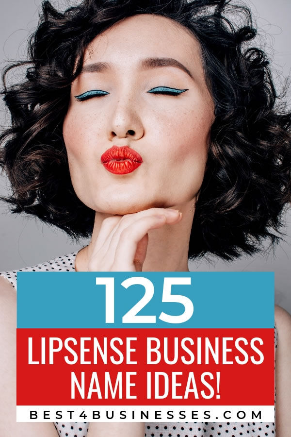 Lipsense business name ideas