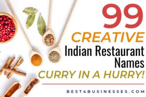 indian restaurant name ideas and logo examples