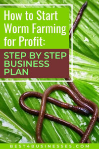 how to worm farming for profit