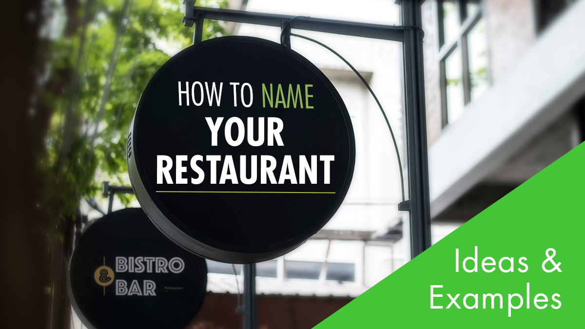 list of restaurant name ideas examples